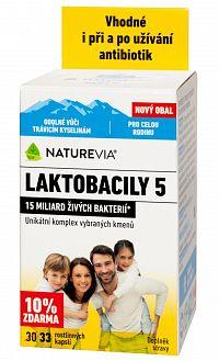 SWISS NATUREVIA LAKTOBACILY 5, 33 cps (exp. 05/20)
