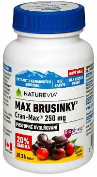 Swiss Naturevia Max Brusnice Cran-Max 250mg 36 tabliet