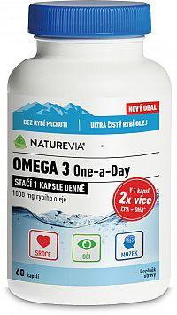 Swiss Nturevia Omega 3 One-a-Day 1000mg 60 kapsúl