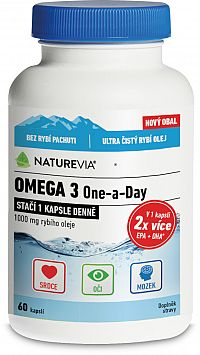 SwissNturevia Omega 3 One-a-Day 1000mg 60cps