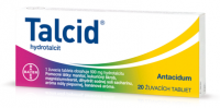 TALCID tbl mnd 500 mg 20 ks