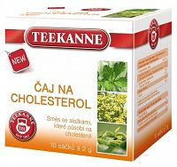 Teekanne Cholesterol bylinná zmes 10x2g