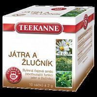 Teekanne Pečeň a žlčník bylinná zmes 10x2g