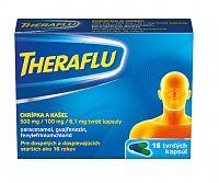 Theraflu chrípka a kašeľ tvrdé kapsuly 16ks