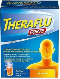 Theraflu Forte chrípka a kašeľ horúci nápoj 10ks