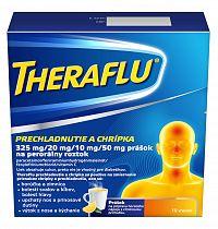 THERAFLU prechladnutie a chrípka 10 vrecúšok