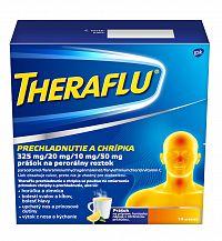THERAFLU prechladnutie a chrípka 14 vrecúšok
