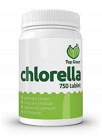 Top Green Chlorella tbl 750 ks