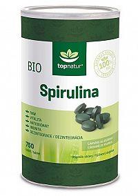 Topnatur BIO Spirulina 750 tabliet
