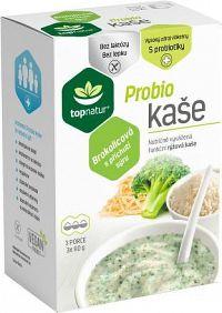 topnatur Probio KAŠA Brokolicová ryžová kaša3x60 g