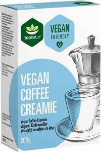 topnatur VEGAN COFFEE CREAMIE pochúťka do kávy 1x200 g