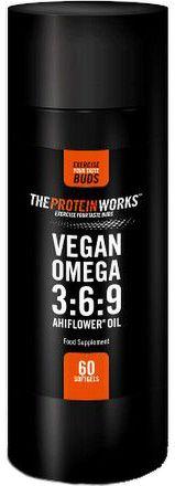 TPW Vegan Omega 3:6:9 Ahiflower oil 60 kapslí