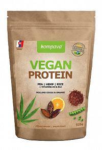Vegan Protein čokoláda/pomaranč 525g