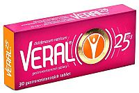 VERAL 25 mg 30tbl