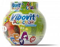 VIBOVIT+ ABECEDA Gummies želatínové písmenká, 50 ks