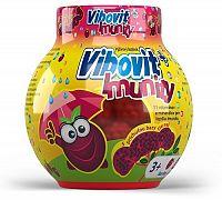 Vibovit + Immunity želé s príchuťou bazy čiernej 50 ks