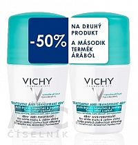 VICHY DEO ROLL-ON 48 HOD. Anti-traces DUO 14 antiperspirant 2x50 ml