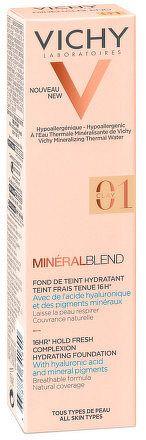 VICHY MINÉRALBLEND FdT 01 CLAY hydratačný make-up 1x30 ml