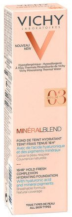 VICHY MINÉRALBLEND FdT 03 GYPSUM hydratačný make-up 1x30 ml
