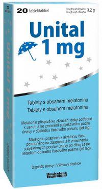 Vitabalans Unital 1mg 20 tabliet