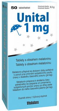 Vitabalans Unital 1mg 50 tabliet