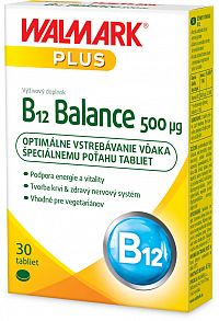 Walmark B12 Balance 500µg 30 tabliet