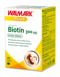 Walmark Biotín 300µg 90 tabliet