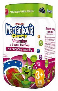 Walmark Marťánci Gummy Černý bez 20mg 50 ks