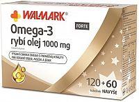 WALMARK Omega-3 FORTE rybí olejcps 120+60 navyše