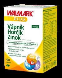 Walmark Vápnik-Horčík-Zinok Osteo tbl.90
