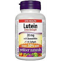 Webber Naturals Luteín 20 mg + Zeaxantín BONUS 30 +15soft