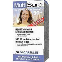 Webber Naturals Multivit. pre ženy nad 50 rokov BONUS 60 +20tbl