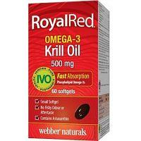 Webber Naturals Omega 3 Royal Krill Oil 500 mg IVO cert. 60tbl