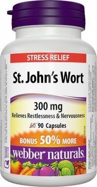 Webber Naturals St. John´s Wort 300 mg 90 kapsúl
