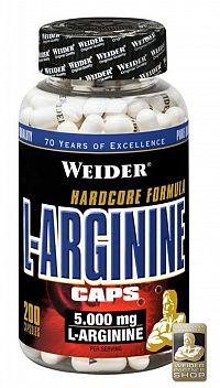 Weider L-Arginine Caps, 200 kps