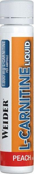 Weider L-Carnitine Liquid 1800mg, 25ml - broskyňa