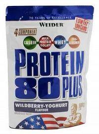 Weider Protein 80 Plus, 500 g - wildberry-yoghurt