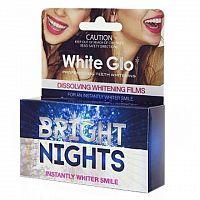 WHITE GLO BRIGHT NIGHTS Bieliaci film pásiky na zuby 1x6 ks