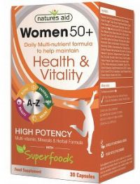 WOMEN 50+ Multinutrient + Superfoods 30 kapsúl