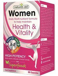 WOMEN Multinutrient + Superfoods 60 kapsúl