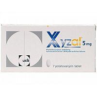 XYZAL tbl flm 5 mg 7 ks
