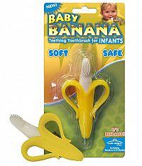 Yookidoo Prvá detská kefka (Baby Banana Brush - Banán)
