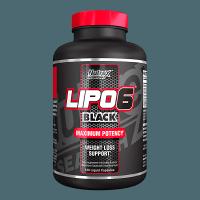 Lipo 6 Black 120 kaps - Nutrex unflavored
