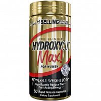 Muscletech Hydroxycut Pro Clinical Max! 60 kaps unflavored