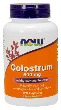 Now Foods Colostrum 500 mg 120 kaps