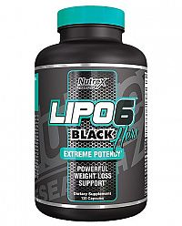 Nutrex Lipo-6 Black Hers International 120 kaps unflavored