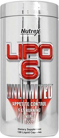 Nutrex Lipo 6 Unlimited 120 tabliet unflavored