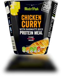 Nutripak Protein Meal 300 g Chcicken Curry with Basmati Rice