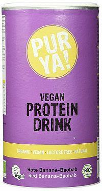 PURYA! Vegan Protein Drink BIO 550 g kakao carob
