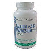 Universal Calcium Zinc Magnesium 100 tbl unflavored
